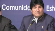 Bolivian president Evo Morales said Tuesday he hopes his country will recover an access to the sea now controlled by Chile a day after a UN court...