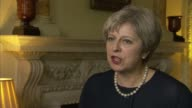 Bomb explodes on Tube train at Parsons Green London Downing Street INT Theresa May MP interview SOT The public should go about their daily lives but...