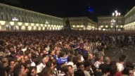 A bomb scare triggers panic among Juventus fans assembled to watch the Champions League final in Turin leaving some 30 supporters injured AFP...