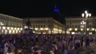 A bomb scare triggers panic among Juventus fans assembled to watch the Champions League final in Turin leaving some 200 supporters injured according...