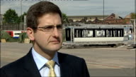 Bombardier site GVs and interview Francis Paonessa interview SOT 1429 of them look likely to lose their jobs It's been a very difficult time /...