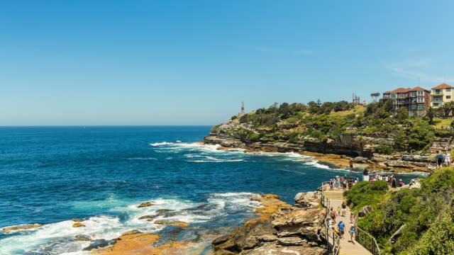 Bondi Beach with people, Sydney