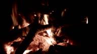Bonfire close up