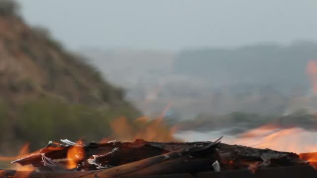 bonfire (костер)