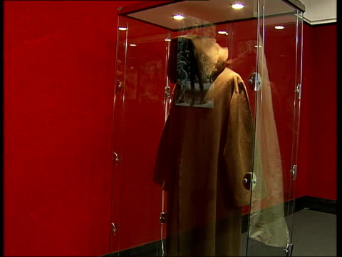 Bonhams auction of film costumes ENGLAND London Knightsbridge Bonhams Fine Art Auctioneers and Valuers INT Glass case displaying ObiWan Kenobi cloak...