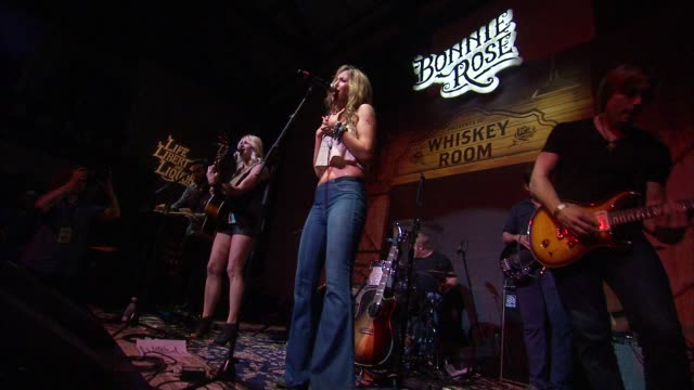 CHYRON Bonnie Rose A new Tennessee White Whiskey Launches in Nashville on July 14 2015 in Nashville Tennessee