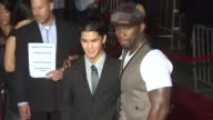 BooBoo Stewart Curtis '50 Cent' Jackson at the 'Red' Premiere at Hollywood CA