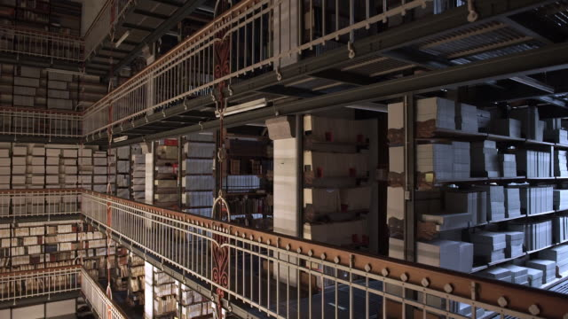 Book Archive in The Royal Library in Copenhagen