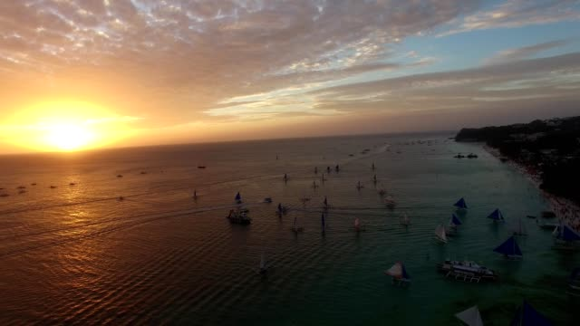Boracay, Philippines at sunset