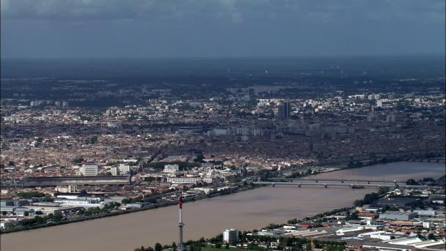 Bordeaux  - Aerial View - Aquitaine, Gironde, Arrondissement de Bordeaux, France