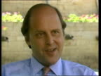 Border tensions increase as Nicaragua accuses US of planning invasion US flag PULL OUT John Negroponte interview SOT Our policy to democracy CAS ex...