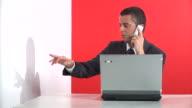 HD: Gelangweilt Büroberuf