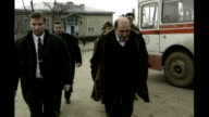 Boris Berezovsky sues Roman Abramovich over stake in oil company T18129914 Berezovsky walking towards with others during the Russian Federation...