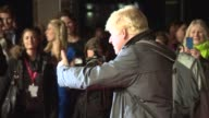 Boris Johnson at 'Testament of Youth' Centerpiece Gala Screening at Odeon Leicester Square on October 14 2014 in London England