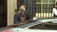 Boris Johnson criticised by statistics watchdog over revival of Brexit referendum NHS pledge London Downing Street EXT Prime Minister Theresa May MP...