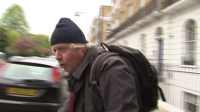 Boris Johnson has been reelected as the Mayor of London following a narrow win over Labour's Ken Livingstone Exterior shots of Boris Johnson wearing...
