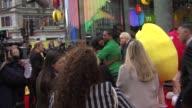 Boris Johnson Mayor of London and JLS and Alexandra Burke at the MMs World Launch at London England