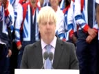 Boris Johnson on legacy of London 2012 olympics