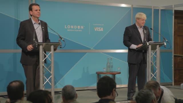 Boris Johnson on ticket sales of the Olympics and the Paralympics Boris Johnson joins the Mayor of Rio Eduardo Paes as London prepares to hand over...