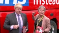 Boris Johnson outlines his vision for Brexit in newspaper article LIB / 1152016 Cornwall Truro Lemon Quay EXT Boris Johnson MP giving speech during...