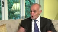 Boris Johnson outlines his vision for Brexit in newspaper article Location unknown Crispin Blunt MP setup shot with reporter / interview SOT Reporter...