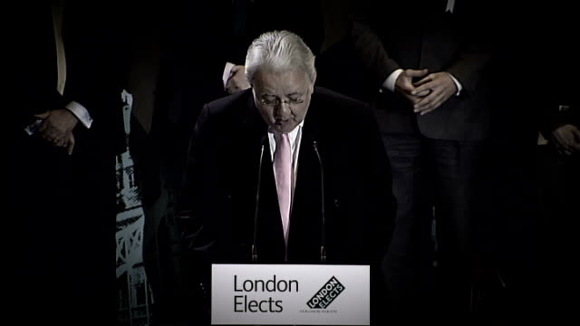 Boris Johnson to run for second term as Mayor of London R03050801 London City Hall Anthony Mayer declaring result of 2008 London Mayoral elections SOT