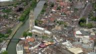 Boston  - Aerial View - England, Lincolnshire, Boston District, United Kingdom