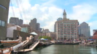 HD: Boston from a boat