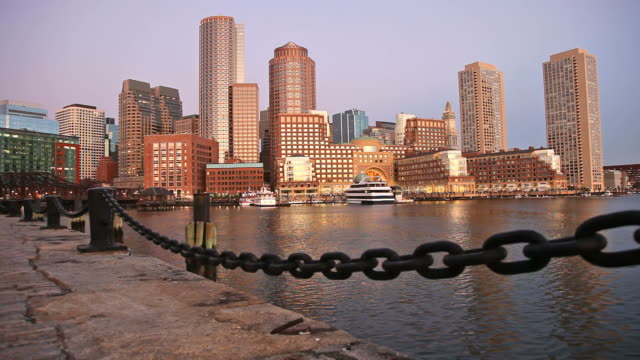 Boston Waterfront, Massachusetts