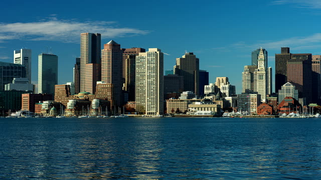 skyline di Boston
