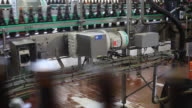 MS Bottles in bottling plant / Orval, Luxembourg, Belgium