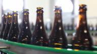 CU Bottles in bottling plant / Orval, Luxembourg, Belgium