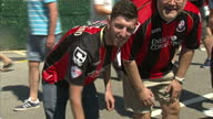 Bournemouth is best known for buckets and spades and beaches but today it was the town's football club that took centre stage It kicked off its first...
