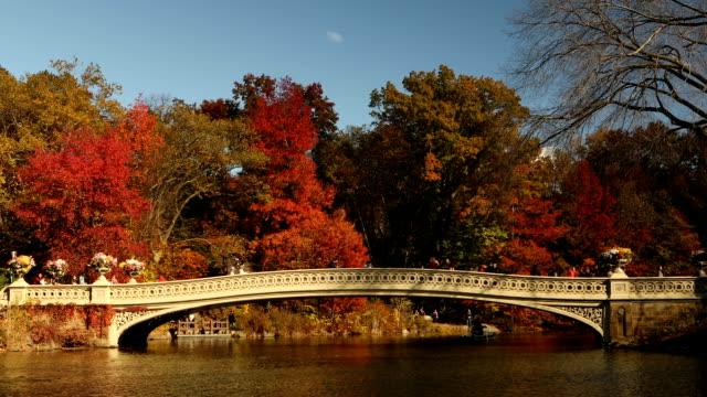 Bow Bridge Autumn in Central Park