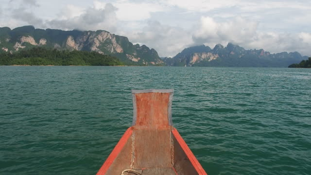 Bow of Longtail Boat