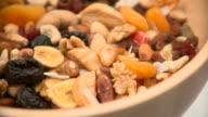 HD LOOP: Bowl Of Healthy Breakfast