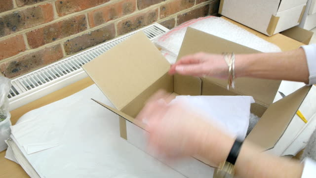 Box being Packed for Dispatch