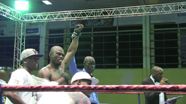 Boxers in Kinshasa celebrate the 40th anniversary of the epic showdown between Muhammad Ali and George Foreman