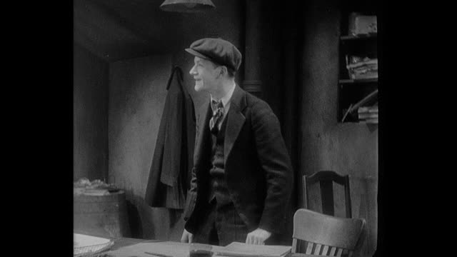 A boy (Junior Durkin) admires his employer (Pat O'Brien ), who tells him his salary