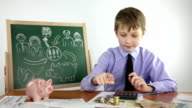 boy and financial success