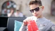 Boy enjoyment outdoors