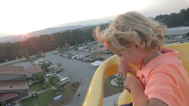 Boy On Ferris Wheel
