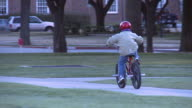 Boy Riding Bike (HD 720P Slow Motion)