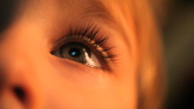 Boy's Augen