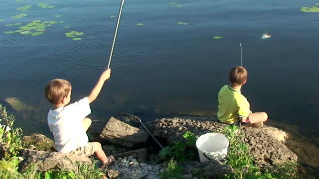 Boys on a fishing trip