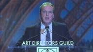 SPEECH Brad Bird at 21st Annual Art Directors Guild Excellence in Production Design Awards in Los Angeles CA