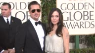 Brad Pitt and Angelina Jolie at the 66th Annual Golden Globe Awards Arrivals Part 5 at Los Angeles CA