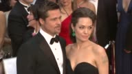 Brad Pitt and Angelina Jolie at the 81st Academy Awards Arrivals Part 7 at Los Angeles CA