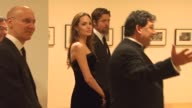 Brad Pitt Angelina Jolie at the MOCA NEW 30th Anniversary Gala at Los Angeles CA