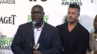 INTERVIEW Brad Pitt Lupita Nyong'o and director Steve McQueen thank everyone involved for this award Brad says it's interesting that it took a Brit...